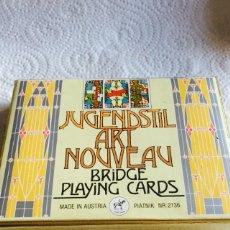 Barajas de cartas: BARAJA ART NOUVEAU. Lote 123615926