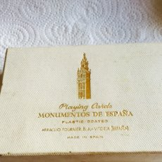 Barajas de cartas: BARAJA MONUMENTOS DE ESPAÑA. Lote 123616988
