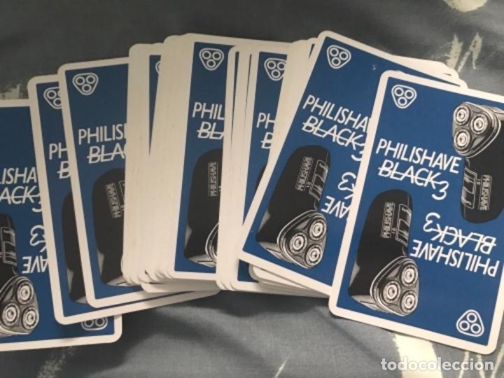 Barajas de cartas: LOTE BARAJAS ANTIGUAS CARTAS NAIPES FOURNIER PHILISHAVE BLACK 2 AFEITADORA ECO BADAJOZ CACERES - Foto 3 - 200173855