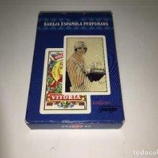 Barajas de cartas: BARAJA ESPAÑOLA PERFUMADA LADY CARDS DE HERACLIO FOURNIER. Lote 124269231