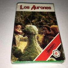 Barajas de cartas: BARAJA LOS AURONES DE HERACLIO FOURNIER. Lote 124269475