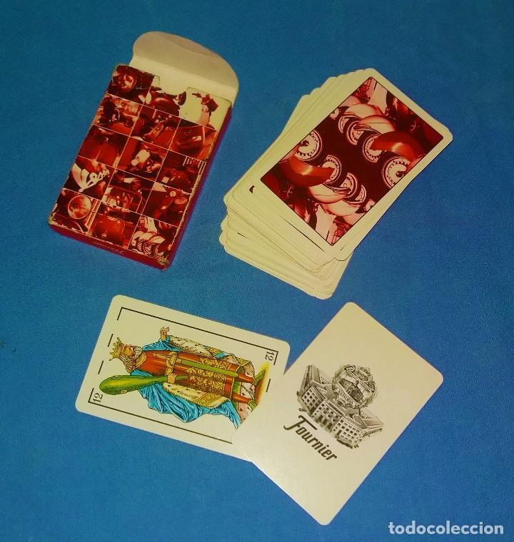 Barajas de cartas: BARAJA DE CARTAS NAIPES DE LA VESPA ORIGINAL - Foto 4 - 124312331