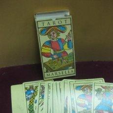 Barajas de cartas: TAROT MARSELLA 22 ARCANOS MAYORES. ORBIS-FABBRI 2000. . Lote 124503219