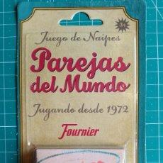 Barajas de cartas: BARAJA PAREJAS DEL MUNDO NUEVA. Lote 124559251