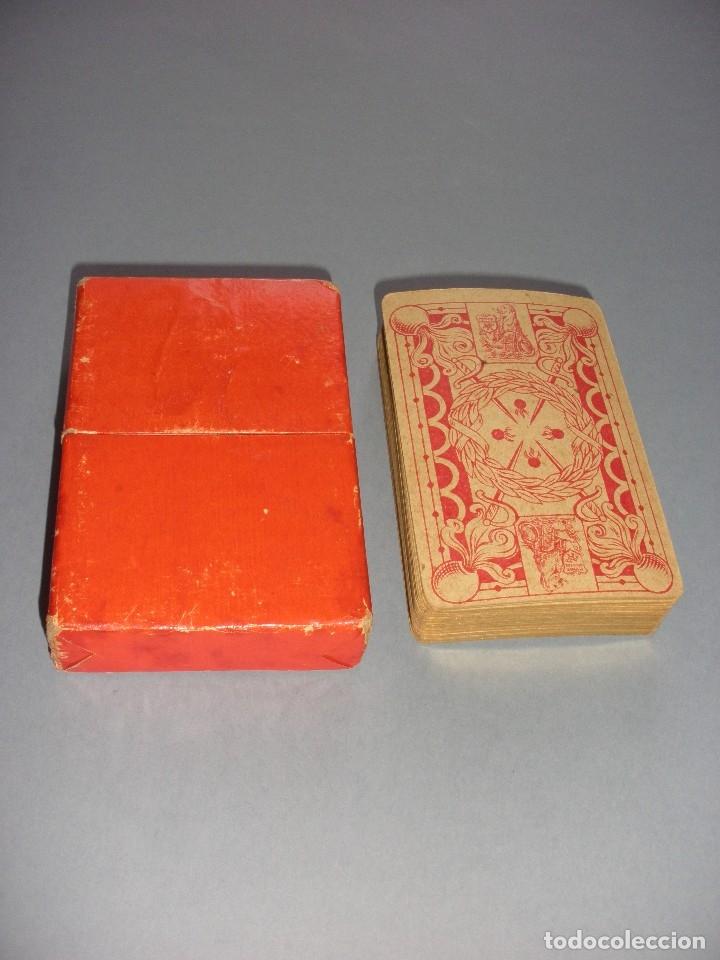 Barajas de cartas: RARISIMA BARAJA JEU DES ALLIES PROVERBES I GUERRA MUNDIAL BIERMANS CARDS BELGICA 1919 - Foto 7 - 110195655