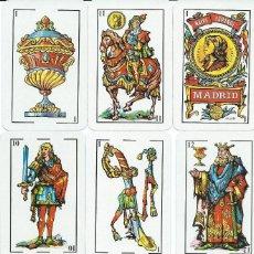 Barajas de cartas: BARAJA ESPAÑOLA EURO CRES-AÑO 1996. Lote 124965447