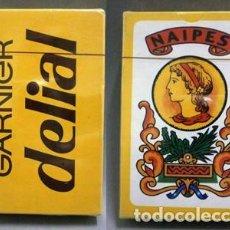 Barajas de cartas: BARAJA DE CARTAS ESPAÑOLA GARNIER DELIAL EN ESTUCHE PRECINTADO - BARAJACARTAS-191 ,9. Lote 222123278