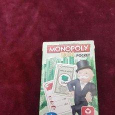 Barajas de cartas: CURIOSA BARAJA DE CARTAS DE MONOPOLY. . Lote 125157699