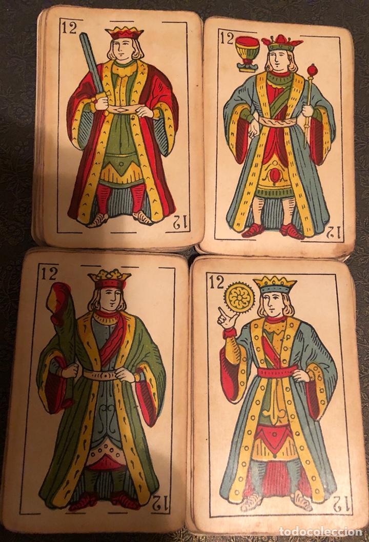 Barajas de cartas: Antigua baraja de naipes La Hispano Americana, de Juan Roura, Barcelona. - Foto 2 - 125223624