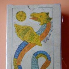 Barajas de cartas: ANTIGUA BARAJA PINTADA - PORTUGAL SIGLO XIX (1860) - NUEVA - CERTIFICADO COLECCION FOURNIER. Lote 125263907