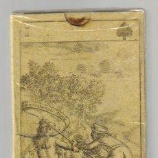 Barajas de cartas: ANTIGUA BARAJA REBELION DE MONMOUTH - I. BRITANICAS SIGLO XVIII - NUEVA - CERT. COLECCION FOURNIER. Lote 125265135