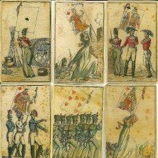 Barajas de cartas: ANTIGUA BARAJA DE LAS BANDERAS - FRANCIA SIGLO XIX (1814) - NUEVA - CERTIFICADO COLECCION FOURNIER. Lote 125265667