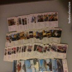Barajas de cartas: LOTE CARTAS MOTOR AÑOS 80/90. Lote 125293823