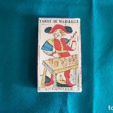 Barajas de cartas: TAROT DE MARSEILLE - MARSELLA (1984) PIATNIK - VIENNE (COMPLETO). Lote 125305899