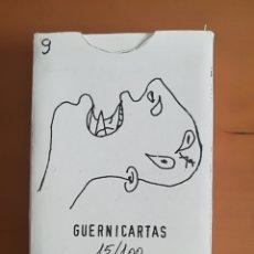 Barajas de cartas: BARAJA PÓKER GUERNICARTAS - EDICIÓN LIMITADA Y NUMERADA I. GABALDÓN AÑO 1988 GUERNICA MADRID. Lote 125336168