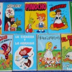 Barajas de cartas: LOTE DE 9 BARAJAS INFANTILES - COMAS ¡IMPECABLES!. Lote 87471620