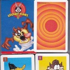 Barajas de cartas: BARAJA INFANTIL LOONEY TUNNES PAREJAS LOCAS. Lote 151487700