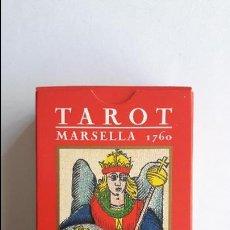 Barajas de cartas: TAROT MARSELLA 1760- ORBIS FABBRI, PRECINTADO _MA. Lote 125881987