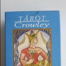 Barajas de cartas: TAROT CROWLEY- ORBIS FABBRI, COMO NUEVAS _MA. Lote 125929071