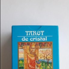 Barajas de cartas: TAROT DE CRISTAL- ORBIS FABBRI, COMO NUEVAS _MA. Lote 125929403