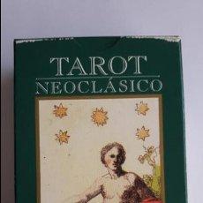 Barajas de cartas: TAROT NEOCLÁSICO- ORBIS FABBRI, COMO NUEVAS _MA. Lote 125929599