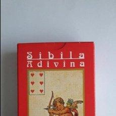 Barajas de cartas: SIBILA ADIVINA- ORBIS FABBRI, CON PRECINTO _MA. Lote 125930423
