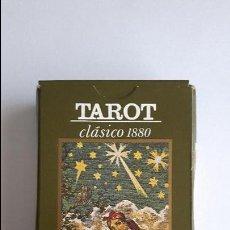 Barajas de cartas: TAROT CLÁSICO 1880- ORBIS FABBRI, COMO NUEVAS _MA. Lote 125930595
