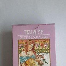 Barajas de cartas: TAROT ART NOUVEAU - ORBIS FABBRI, COMO NUEVAS _MA. Lote 125930803