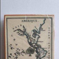 Barajas de cartas: JUEGO DE LAS CUATRO PARTES DEL MUNDO. FRANCIA, SIGLO XIX- FACSÍMIL PRECINTADO _MA. Lote 126022343