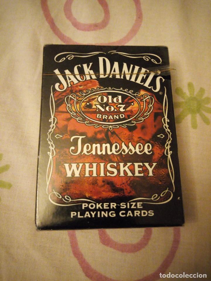 BARAJA DE POKER JACK DANIELS OLD N 0 7 BRAND TENNESSEE WHISKEY,PRECINTADA. (Juguetes y Juegos - Cartas y Naipes - Barajas de Póker)