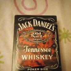 Barajas de cartas: BARAJA DE POKER JACK DANIELS OLD N 0 7 BRAND TENNESSEE WHISKEY,PRECINTADA.. Lote 126156299