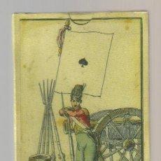 Barajas de cartas: ANTIGUA BARAJA DE LAS BANDERAS - FRANCIA SIGLO XIX (1814) - NUEVA - CERTIFICADO COLECCION FOURNIER. Lote 156707933