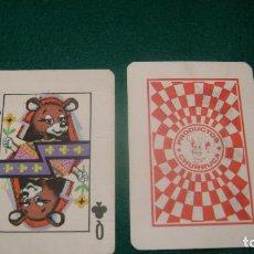 Barajas de cartas: PIPAS CHURRUCA BARAJA FRANCESA Q REINA DE TREBOL. Lote 126212207