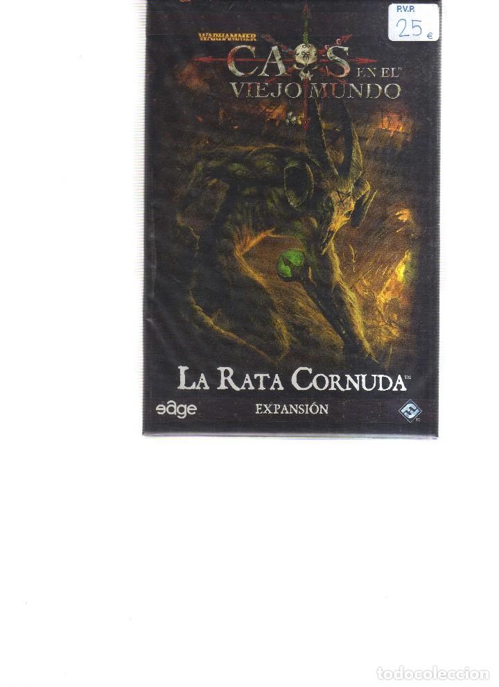 CAOS EN EL VIEJO MUNDO LA RATA CORNUDA EXPANSION (Juguetes y Juegos - Cartas y Naipes - Otras Barajas)