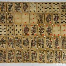 Barajas de cartas: BARAJA DE CARTAS DEL TAROT. 54 CARTAS. COMPLETA. PIATNIK. VIENA. SIGLO XIX. . Lote 151108785