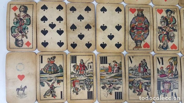 Barajas de cartas: BARAJA DE CARTAS DEL TAROT. 54 CARTAS. COMPLETA. PIATNIK. VIENA. SIGLO XIX. - Foto 5 - 151108785