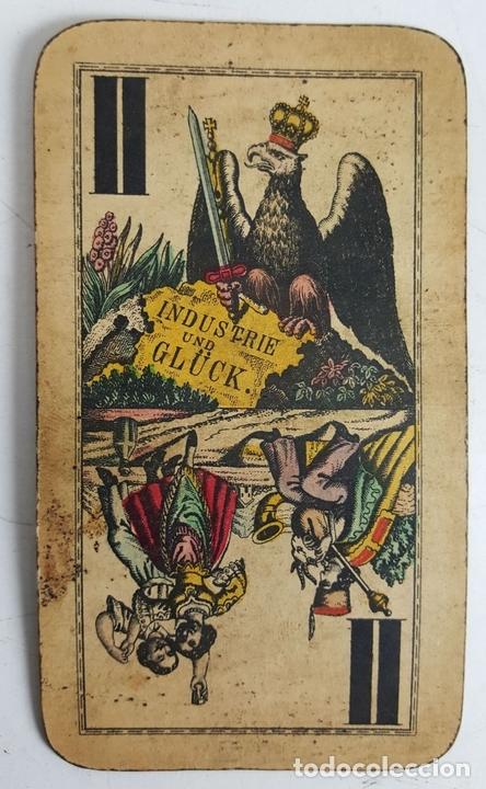 Barajas de cartas: BARAJA DE CARTAS DEL TAROT. 54 CARTAS. COMPLETA. PIATNIK. VIENA. SIGLO XIX. - Foto 6 - 151108785