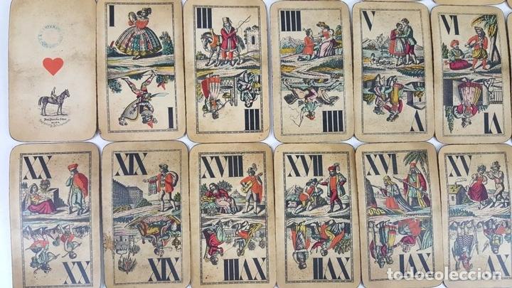 Barajas de cartas: BARAJA DE CARTAS DEL TAROT. 54 CARTAS. COMPLETA. PIATNIK. VIENA. SIGLO XIX. - Foto 9 - 151108785