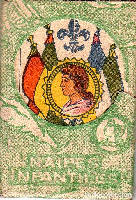 BARAJAS DE NAIPES INFANTILES. MEDIDAS : 6,5 X 4,5 CM. (Juguetes y Juegos - Cartas y Naipes - Barajas Infantiles)