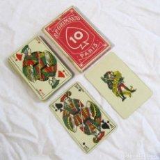 Barajas de cartas: BARAJA DE NAIPES B.P. GRIMAUD PARÍS. COMPLETA, 33 CARTAS. Lote 126684999