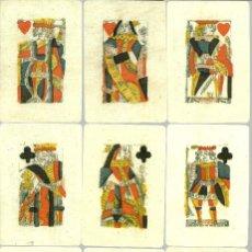 Barajas de cartas: ANTIGUA BARAJA PARA PIQUET ISLAS BRITANICAS SIGLO XVIII (1780) - NUEVA - CERT. COLECCION FOURNIER . Lote 126863403