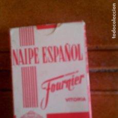 Barajas de cartas: BARAJA DE FOURNIER NAIPE ESPAÑOL. Lote 127515867