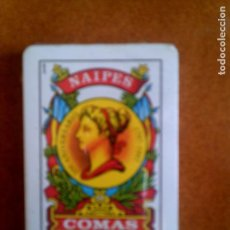 Barajas de cartas: BARAJA NAIPES COMAS. Lote 127516095