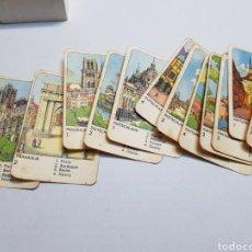 Barajas de cartas: JUEGO CARTAS COMPLETO STEDEN KWARTET AÑOS 50. Lote 128153910