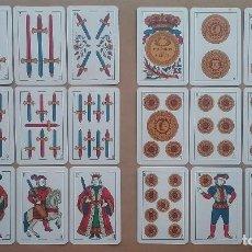 Barajas de cartas: BARAJA DE NAIPES JUAN ROURA TIMBRE 1'25 PTS. AÑOS '30. Lote 128306915