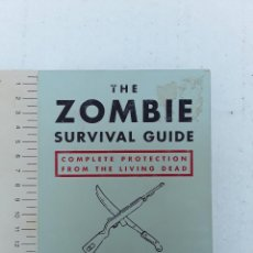 Barajas de cartas: THE ZOMBI SURVIVAL GUIDE-MAX BROOKS-POTTER STYLE-50 MAXICARTAS-FICHAS-INGLES. Lote 128370295