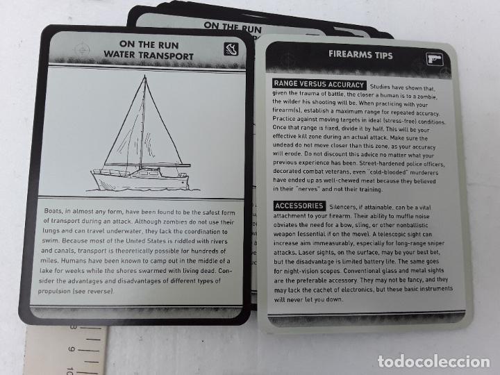 Barajas de cartas: -THE ZOMBI SURVIVAL GUIDE-MAX BROOKS-POTTER STYLE-50 MAXICARTAS-FICHAS-INGLES - Foto 7 - 128370295