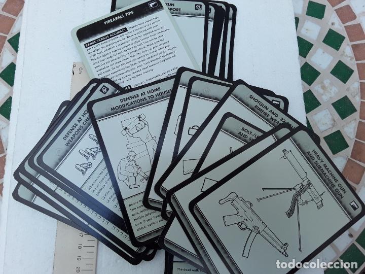 Barajas de cartas: -THE ZOMBI SURVIVAL GUIDE-MAX BROOKS-POTTER STYLE-50 MAXICARTAS-FICHAS-INGLES - Foto 11 - 128370295