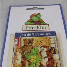 Barajas de cartas: BARAJA INFANTIL 7 FAMILIAS . FRANKLIN.. Lote 128397267