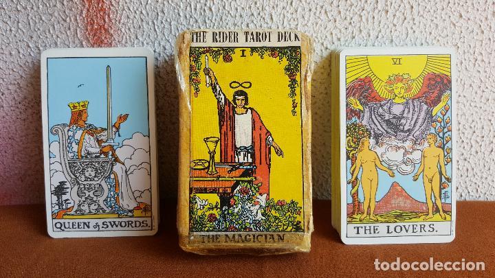 Barajas de cartas: Cartas tarot. The rider tarot deck. The magician. - Foto 2 - 128450027